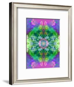 Composing of Flowers and Mandala Ornament by Alaya Gadeh