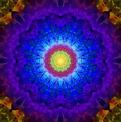 Crown & Third Eye Mandala