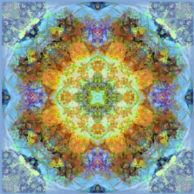 Flower Mandala Royal Baby Blue