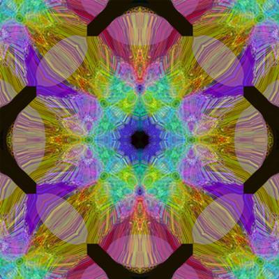 Geometric Fountain Mandala