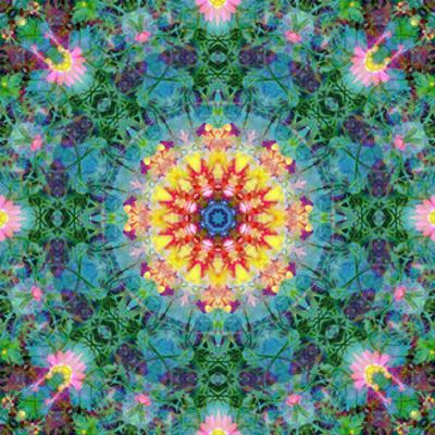 Mandala Earth And Sun