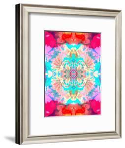 Mandala Ornament of Flowers, Composing by Alaya Gadeh