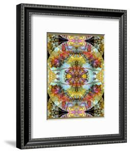 Mandala, Symmetrical Arrangement of Natural Materials by Alaya Gadeh