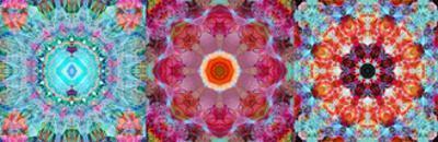 Mandala Tryptich IV