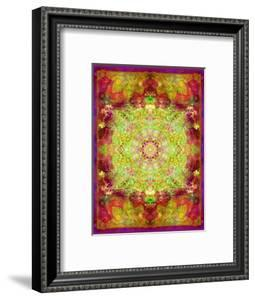 Multicolor Ornament from Flower Photographs by Alaya Gadeh