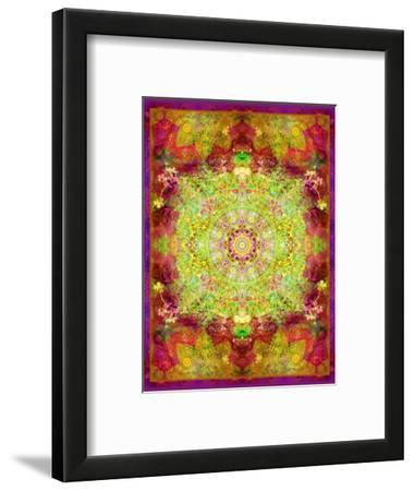 Multicolor Ornament from Flower Photographs