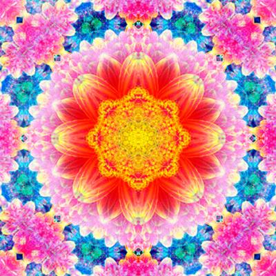 Orange Blossom Mandala