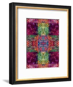 Photographic Layer Work Ornament from Trees Multicolor by Alaya Gadeh