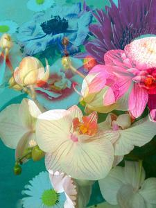 Photomontage of Flowers in Water by Alaya Gadeh