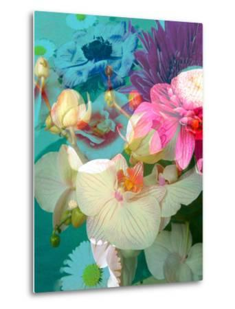 Photomontage of Flowers in Water