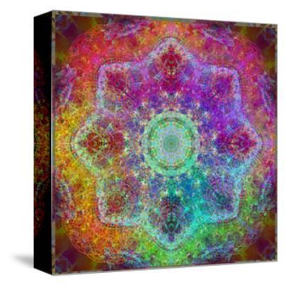 Rainbow Blossom Mandala