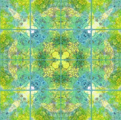 Symmetric Floral Tiles II