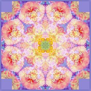 Symmetric Multicolor Layer Work of Blossoms by Alaya Gadeh