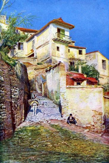 Albaicin, the Old Quarter of Granada, Andalusia, Spain, C1924--Giclee Print
