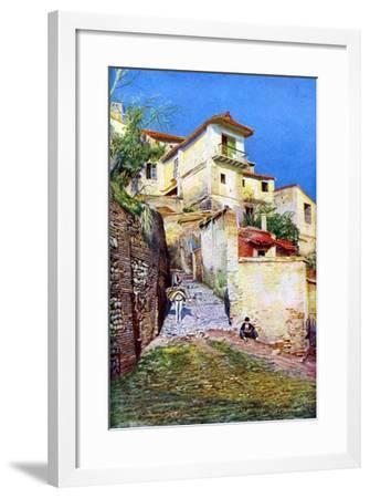 Albaicin, the Old Quarter of Granada, Andalusia, Spain, C1924--Framed Giclee Print