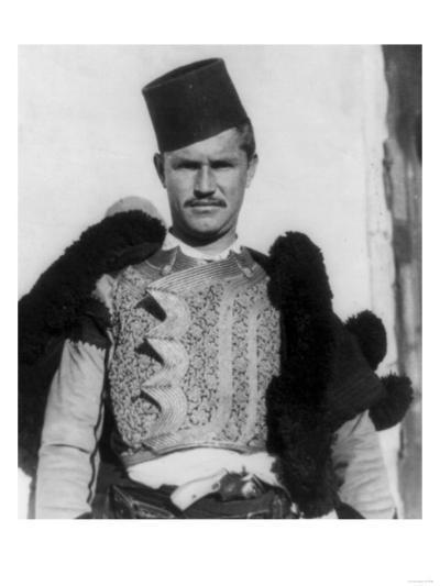 "Albanian Shkypetars ""Men of the Eagle"" Photograph - Albania-Lantern Press-Art Print"