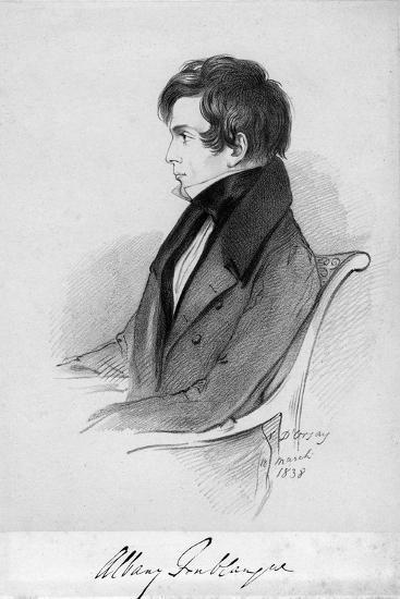 Albany Fonblanque, Journalist, C1820-1850-Alfred d'Orsay-Giclee Print