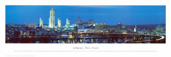 Albany, New York-James Blakeway-Art Print