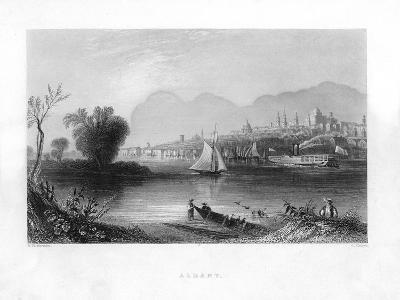 Albany, New York--Giclee Print