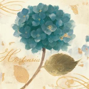 Abuntant Teal Hydrangea by Albena Hristova