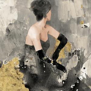 Beautiful Gaze I Neutral Gold by Albena Hristova