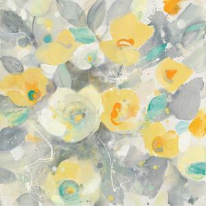 Buttercups II Teal by Albena Hristova