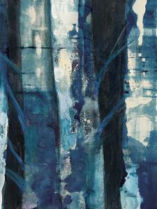 Deep Woods I Indigo by Albena Hristova