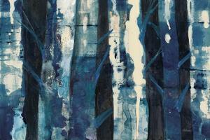 Deep Woods III Indigo by Albena Hristova