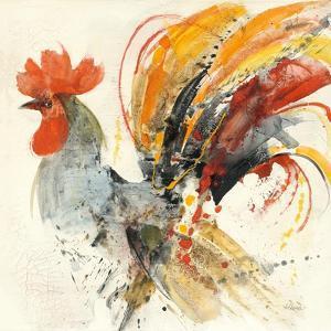 Festive Rooster II by Albena Hristova