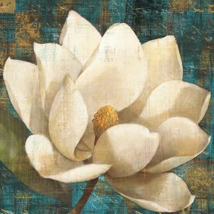 Magnolia Blossom Turquoise by Albena Hristova