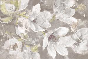 Magnolias in Bloom Greige by Albena Hristova
