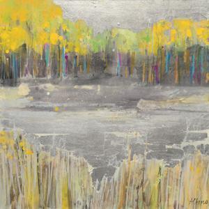 Silver Landscape by Albena Hristova