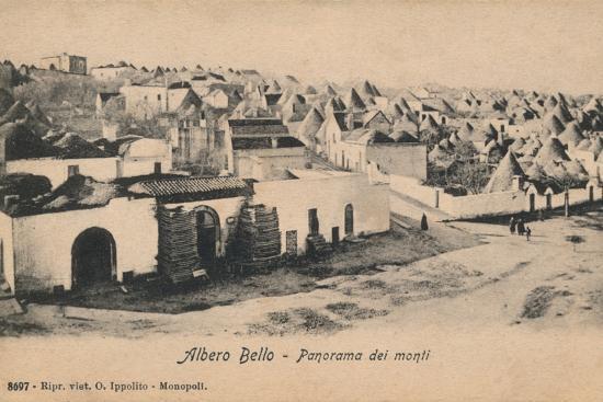 'Albero Bello - Panorama dei Monti', c1910-Unknown-Photographic Print