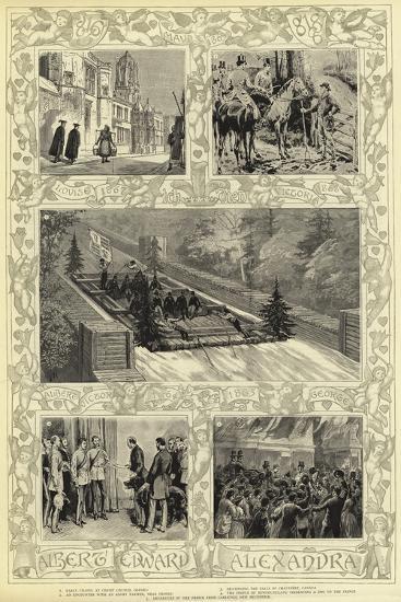 Albert and Alexandra--Giclee Print