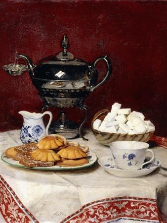 Still Life: Tasteful Tea, 1897 by Albert Anker