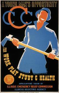 New Deal: Wpa Poster by Albert Bender