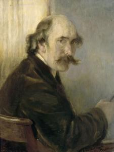 André-Charles Coppier (1867-1948), graveur et historien d'art by Albert Besnard