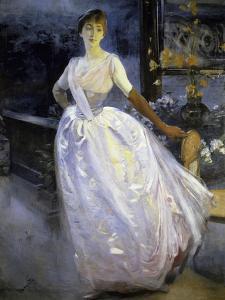 Madame Roger Jourdain by Albert Besnard