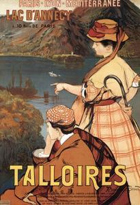 Talloires by Albert Besnard