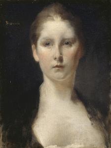 Tête de femme by Albert Besnard