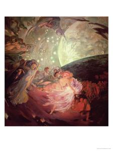 Truth, Leading the Sciences, Giving Light to Man, 1891 by Albert Besnard