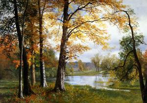 A Quiet Lake by Albert Bierstadt