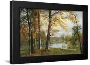 A Quiet Lake by Albert Bierstadt