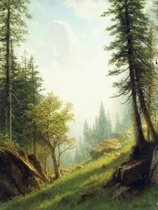 Among the Bernese Alps by Albert Bierstadt