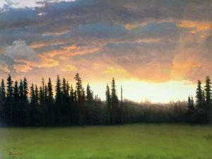 California Sunset by Albert Bierstadt