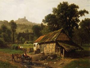 In the Foothills, 1861 by Albert Bierstadt