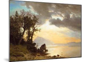 Lake Tahoe, California, 1867 by Albert Bierstadt