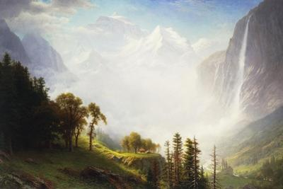 Majesty of the Mountains, 1853-57 by Albert Bierstadt