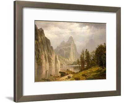 Merced River, Yosemite Valley, 1866