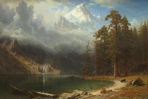 Mount Corcoran, c.1876-77 by Albert Bierstadt